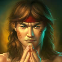 "Create Fan Art for Mortal Kombat's ""Liu Kang"" in Photoshop"