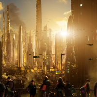 Futuristic Cityscapes by Scott Richard