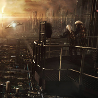 Sebastien Hue&#8217;s Awesome Sci-Fi Environments and Matte Paintings