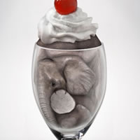 Create an Elephant Sundae Using Photo Manipulation Techniques