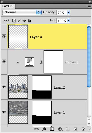 how to change layers to be portrat in photoshop