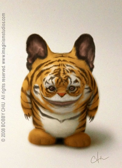 Tigger in The Fun and Upbeat Illustrations of Imaginism Studios
