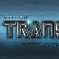 "Quick Tip: Create a ""Transfarmers"" Text Effect Using Layer Styles in Photoshop"
