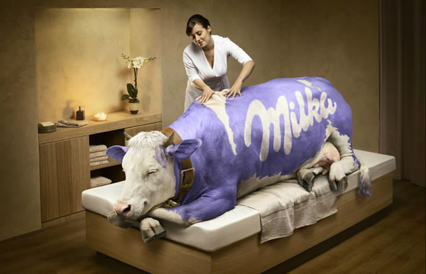 milka Mind Blowing Photo Manipulations of Asile