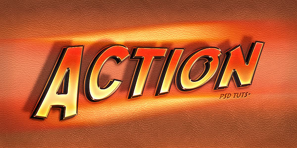 Quick Tip Create an Action Text Effect in Photoshop