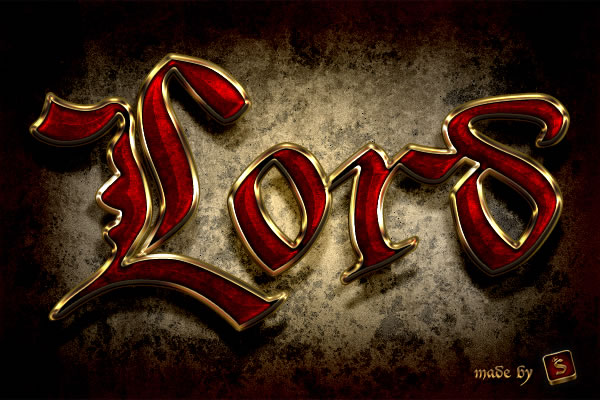 Quick Tip: Create a Royal Gold Text Effect in Photoshop Using Layer Styles