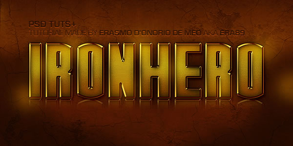 Quick Tip Create an IronHero Text Effect in Photoshop