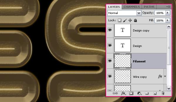 Học Step 13 1 Tạo Text với Hiệu Ứng Bóng Đèn Tròn