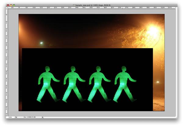 lg s2 Tạo Hiệu Ứng Glowing Light Painting