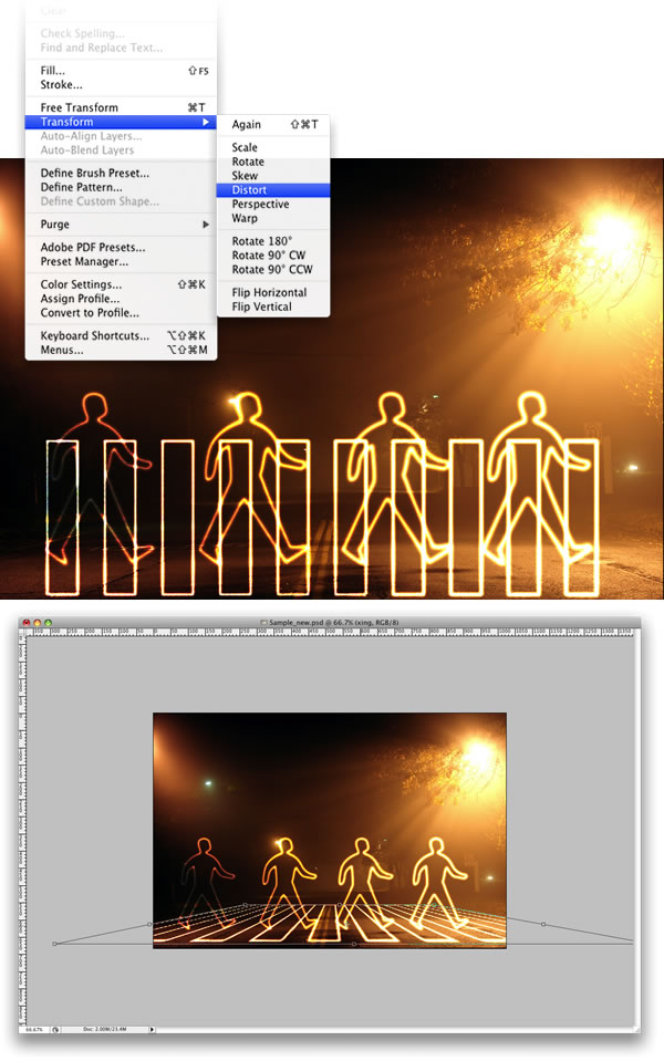 lg s9 Tạo Hiệu Ứng Glowing Light Painting