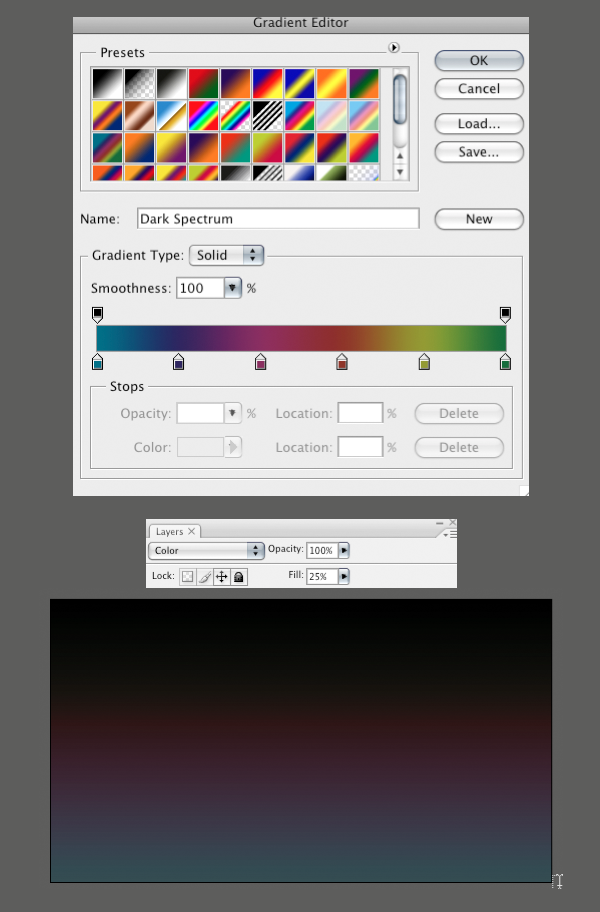 step 02 - Create a Layered Glowing Text Effect