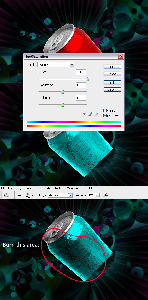 tutorial photoshop diferentes estilos