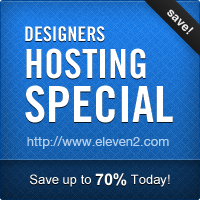 Designer's Hosting Special – Save Up to 70%