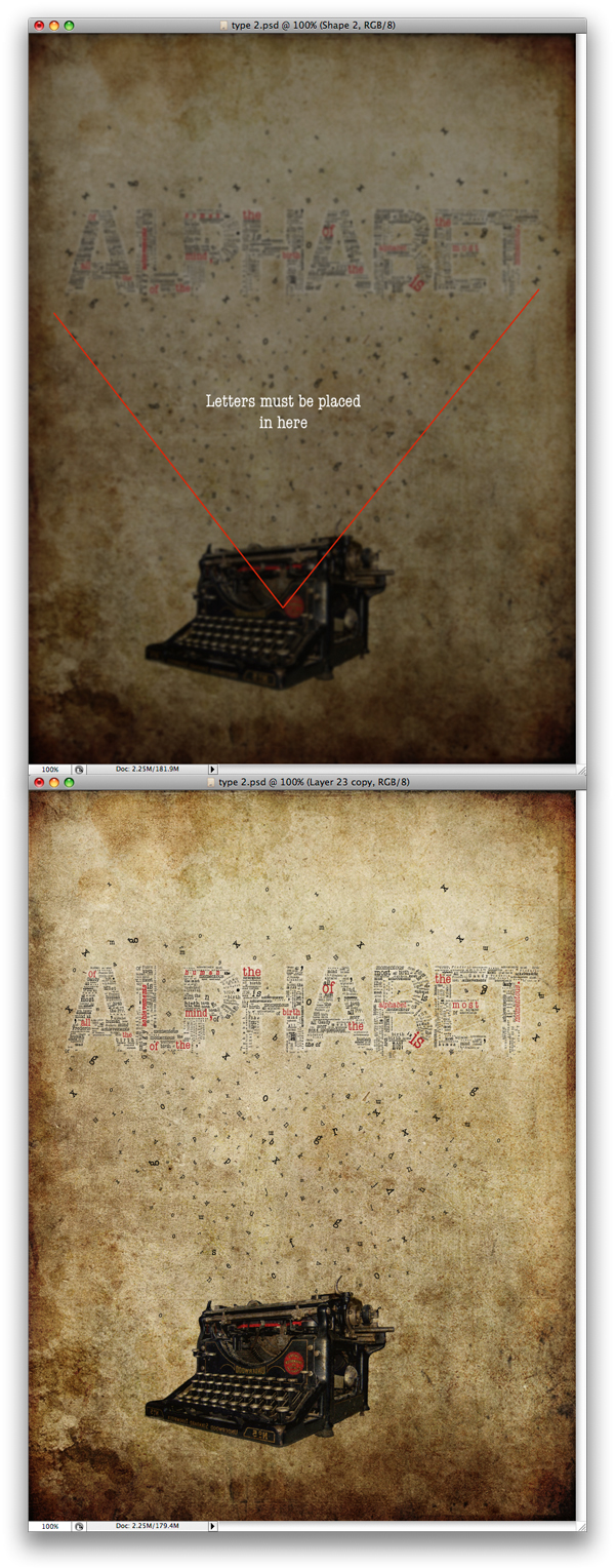 Thiết Kế Một Typographic Concept Poster trong Photoshop
