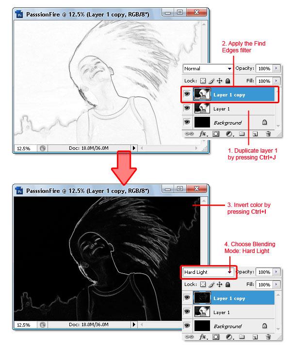 05 - Adobe Photoshop | Yanan fotoğraf manipülasyonu oluşturma ( ileri seviye )