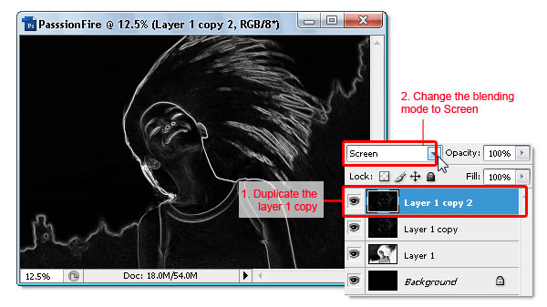 06 - Adobe Photoshop | Yanan fotoğraf manipülasyonu oluşturma ( ileri seviye )