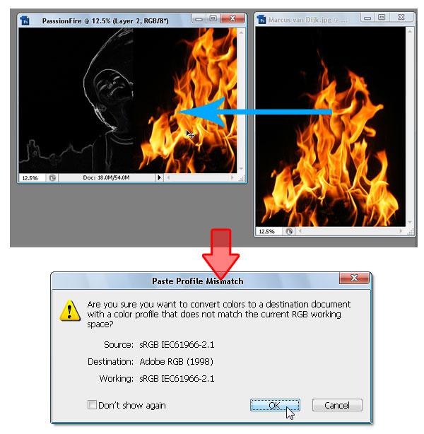 07 - Adobe Photoshop | Yanan fotoğraf manipülasyonu oluşturma ( ileri seviye )