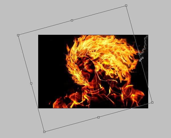 16 - Adobe Photoshop | Yanan fotoğraf manipülasyonu oluşturma ( ileri seviye )