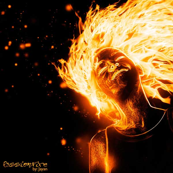 Musykilah Kiamat: Photoshop : How to Create a Flaming Photo Manipulation