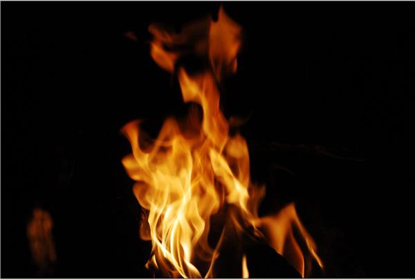 Как сделать карточку огня