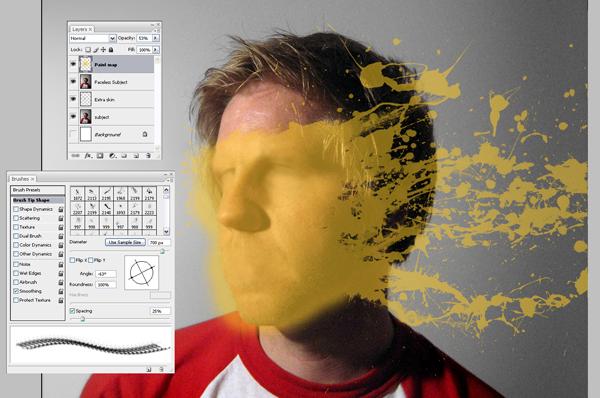 Học Screen%20Shot%203 Tạo Hiệu Ứng Vết Sơn trên Khuôn Mặt trong Photoshop