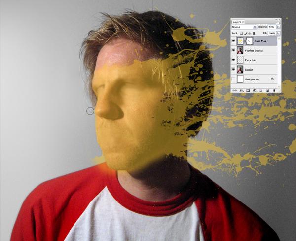 Học Screen%20Shot%203a Tạo Hiệu Ứng Vết Sơn trên Khuôn Mặt trong Photoshop