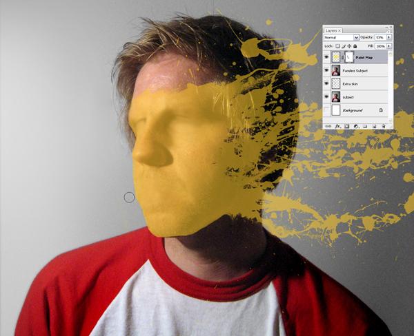 Học Screen%20Shot%203b Tạo Hiệu Ứng Vết Sơn trên Khuôn Mặt trong Photoshop