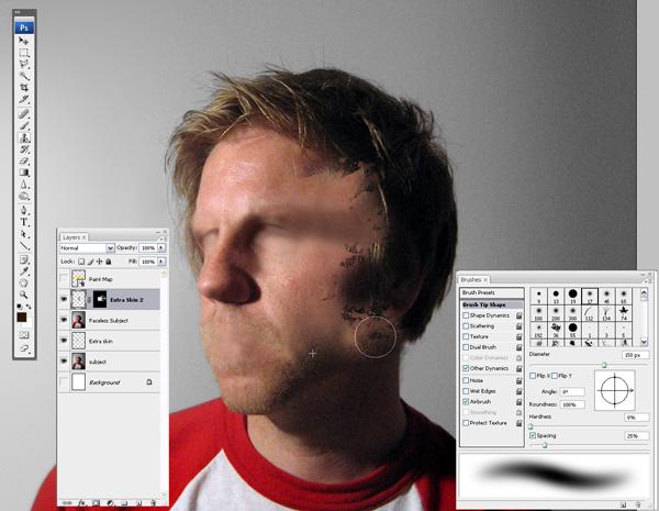 Học Screen%20Shot%207 Tạo Hiệu Ứng Vết Sơn trên Khuôn Mặt trong Photoshop