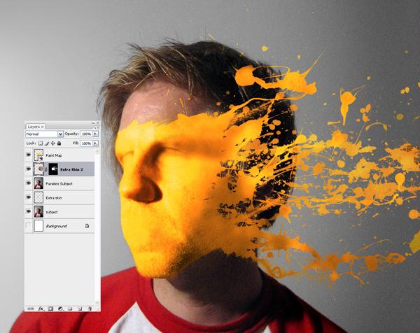 Học Screen%20Shot%209 Tạo Hiệu Ứng Vết Sơn trên Khuôn Mặt trong Photoshop