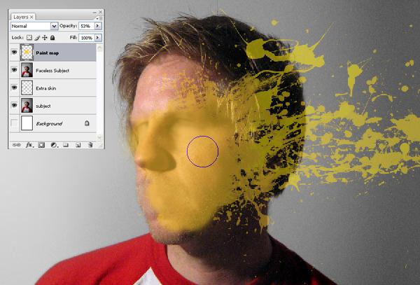 Học Screen%20Shot%20b3 Tạo Hiệu Ứng Vết Sơn trên Khuôn Mặt trong Photoshop