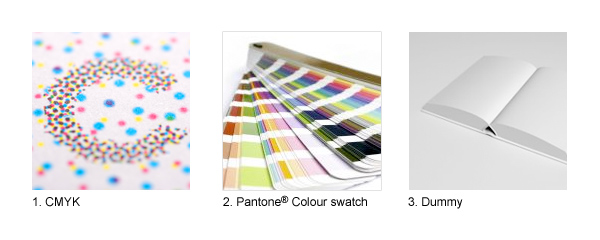CMYK, Pantone and Dummy
