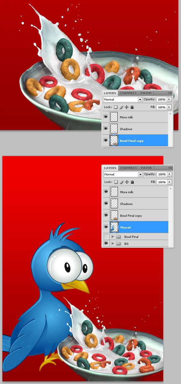 24 in Create a Cereal Box Cover from Scratch Using Photoshop's 3D Tools
