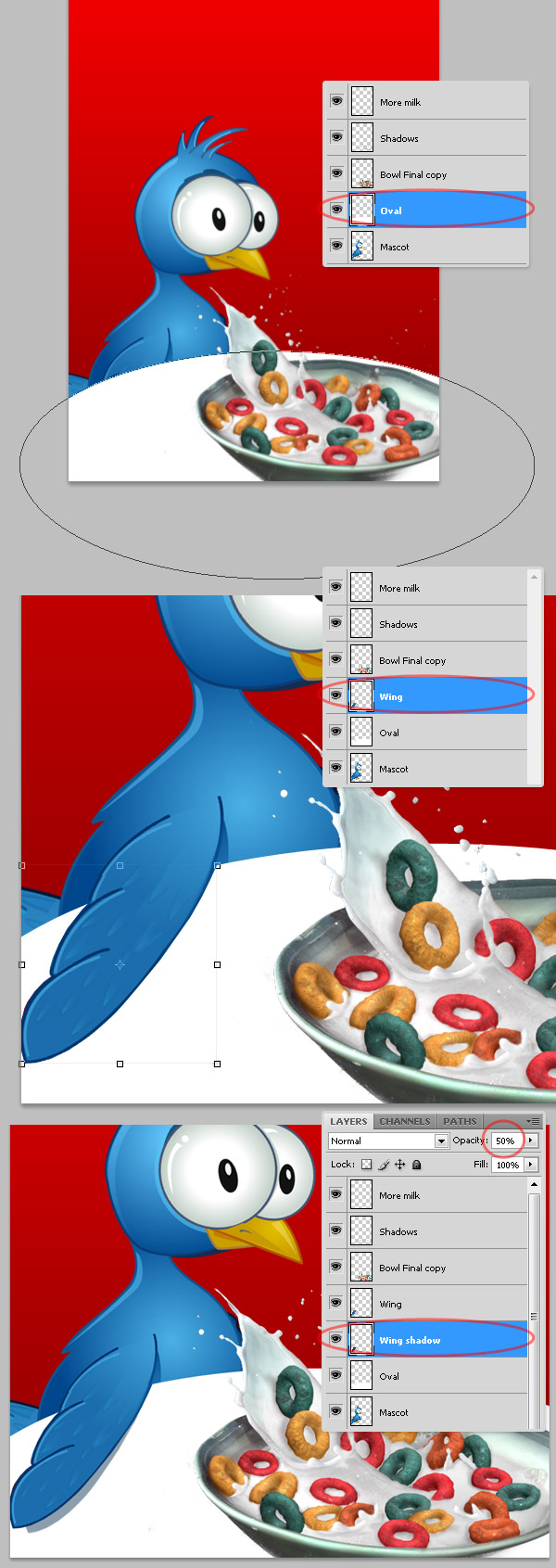 25 in Create a Cereal Box Cover from Scratch Using Photoshop's 3D Tools