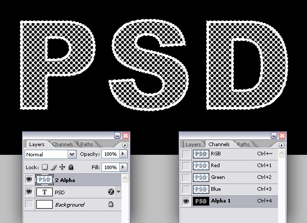 5 - How to Create Eroded Metal Text With Photoshop