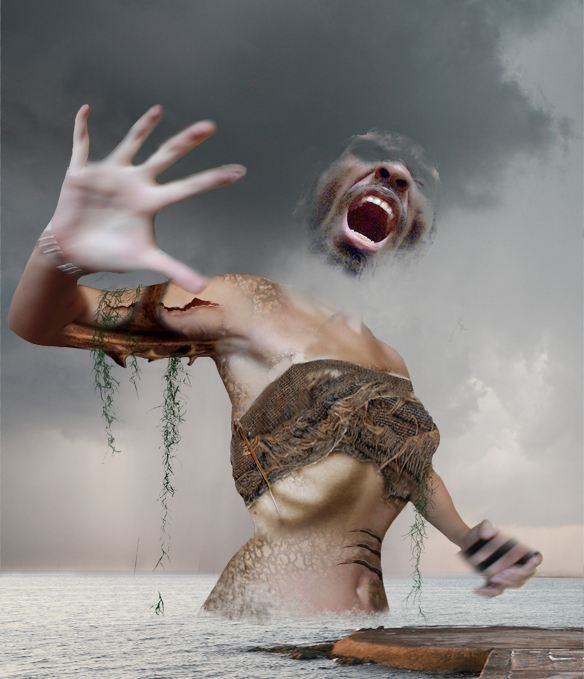 Create a Ghostly Demonic Being in Photoshop