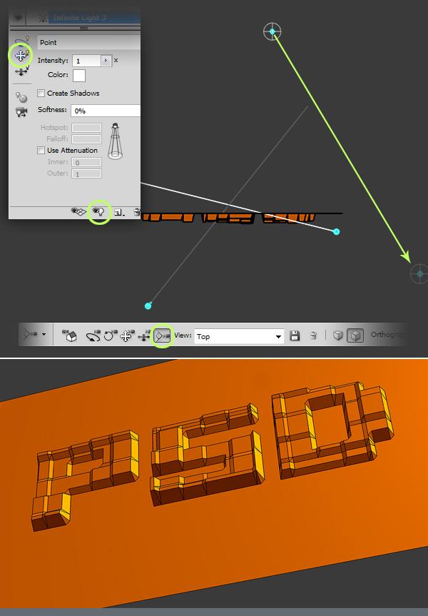13 Hướng Dẫn Tạo Text Block 3D trong Photoshop