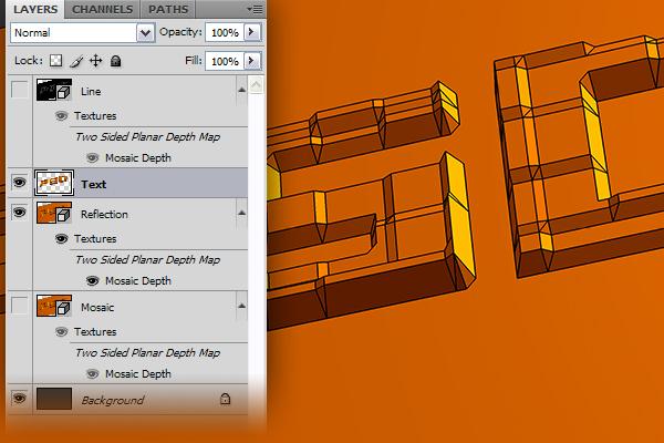 15 Hướng Dẫn Tạo Text Block 3D trong Photoshop