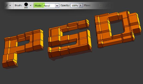 18 Hướng Dẫn Tạo Text Block 3D trong Photoshop