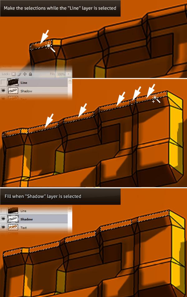 21 Hướng Dẫn Tạo Text Block 3D trong Photoshop