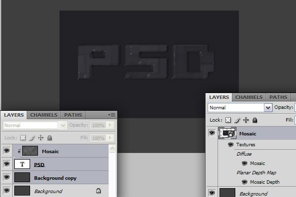 4 Hướng Dẫn Tạo Text Block 3D trong Photoshop