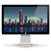 Creating a Set of Digital Painting Icons Part 5 – Cityscape Display Icon – Screencast