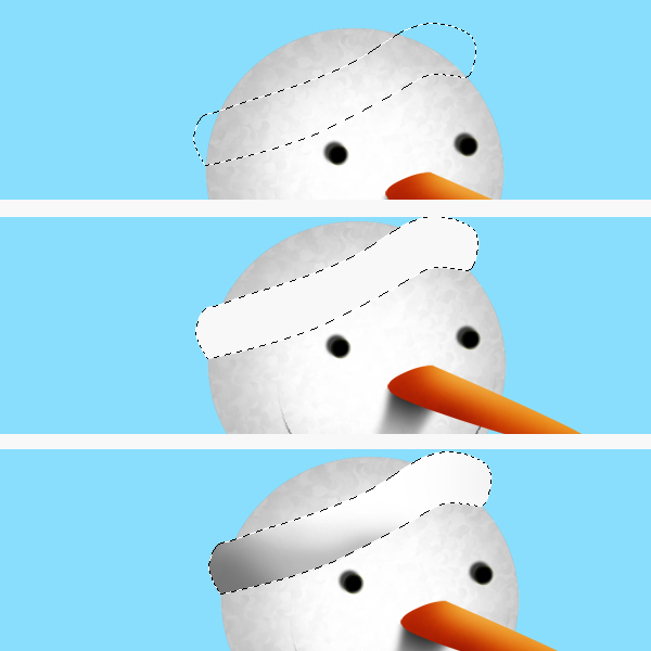 10 Tạo Người Tuyết và Bông Tuyết Lấp Lánh trong Photoshop