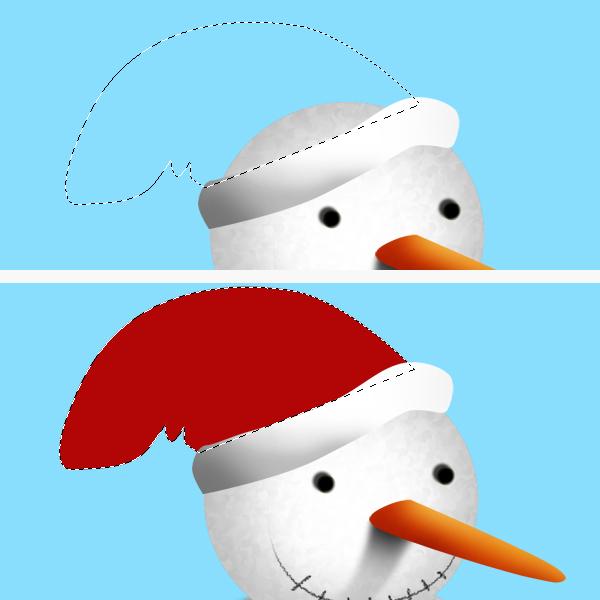 11 Tạo Người Tuyết và Bông Tuyết Lấp Lánh trong Photoshop