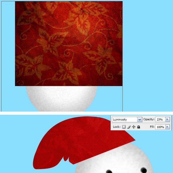 11a Tạo Người Tuyết và Bông Tuyết Lấp Lánh trong Photoshop