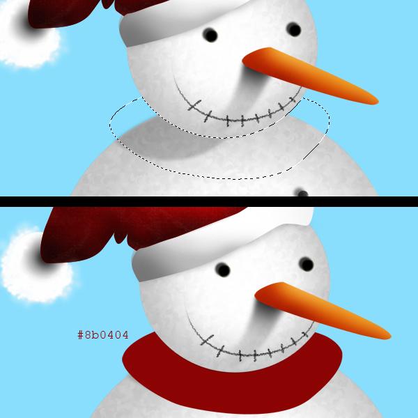 15 Tạo Người Tuyết và Bông Tuyết Lấp Lánh trong Photoshop