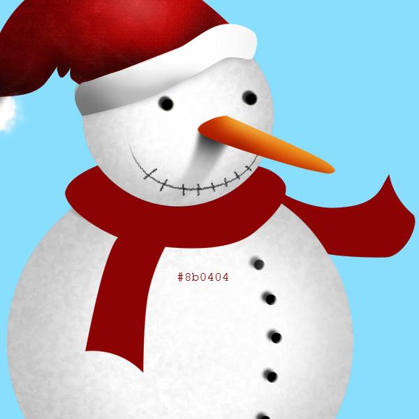 15a Tạo Người Tuyết và Bông Tuyết Lấp Lánh trong Photoshop