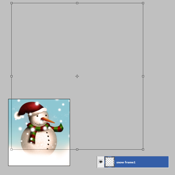 19 Tạo Người Tuyết và Bông Tuyết Lấp Lánh trong Photoshop