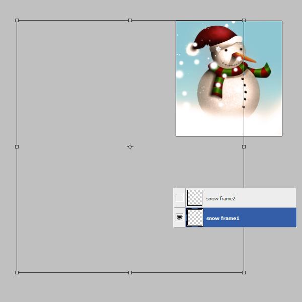 19a Tạo Người Tuyết và Bông Tuyết Lấp Lánh trong Photoshop