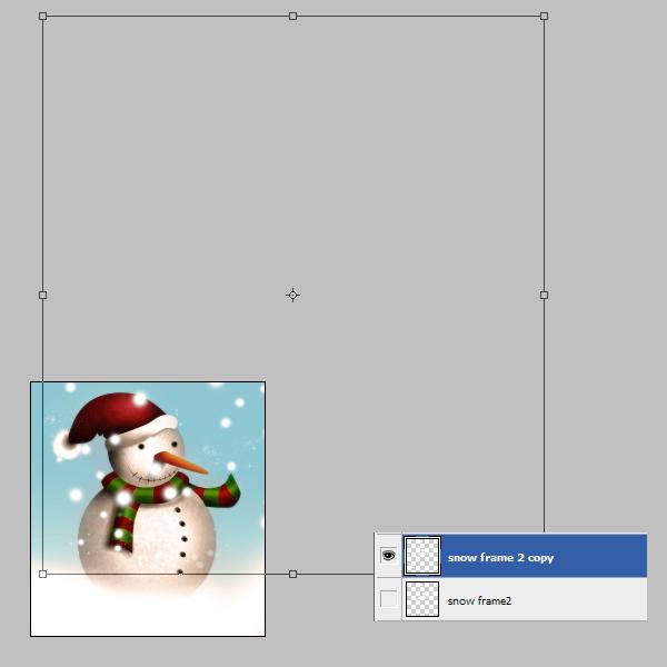 20 Tạo Người Tuyết và Bông Tuyết Lấp Lánh trong Photoshop