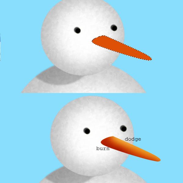 7 Tạo Người Tuyết và Bông Tuyết Lấp Lánh trong Photoshop